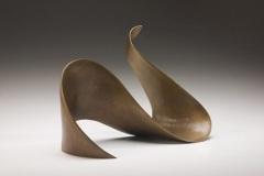 "BRONZE LOOP - 2005 11"" h x 15"" w x 8"" d Cast bronze Available"