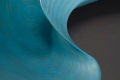 "Stratus Fibratus - 2010 22"" h x 34"" w x 10"" d Laminated plywood, acrylic paint Available"
