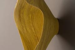 "Stratus Radiatus - 2010 16"" h x 10"" w x 9"" d Laminated plywood, aniline dye Available"