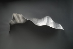 """LEAF 1 - 2007 14"""" h x 38"""" w x 8"""" d Unique cast aluminum Available"""